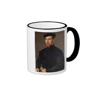 Retrato de Simon Renard 1553 Taza De Café
