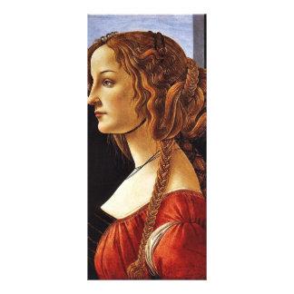 Retrato de Simonetta Vespucci de Botticelli Sandr Lonas Publicitarias