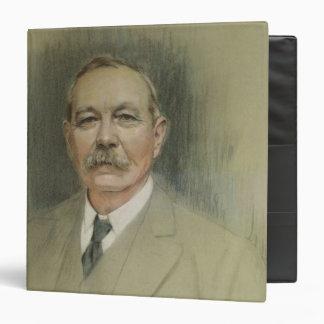 """Retrato de sir Arthur Conan Doyle Carpeta 1 1/2"""""""
