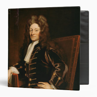 Retrato de sir Christopher Wren 1711 Carpeta 1 1/2""
