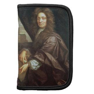 Retrato de sir Christopher Wren (aceite en lona) Planificador