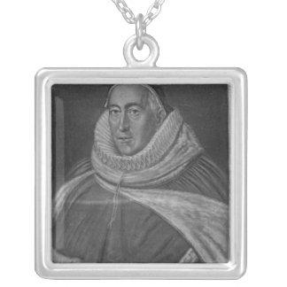 Retrato de sir Christopher Yelverton Colgante Cuadrado