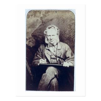 Retrato de sir Edwin Landseer (1802-73) (albumen Postales