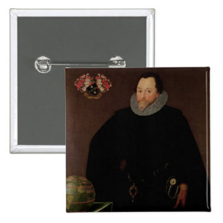 Retrato de sir Francis Drake 1591 Pin