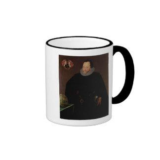 Retrato de sir Francis Drake 1591 Tazas