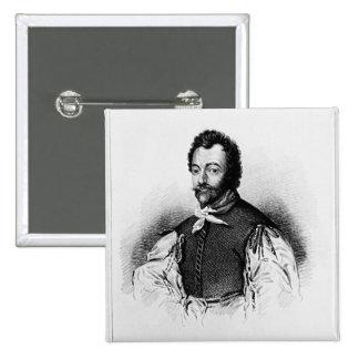 Retrato de sir Francis Drake Pin