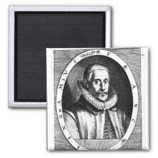 Retrato de sir Francisco Walsingham Imán Cuadrado
