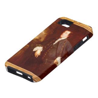 Retrato de sir Guillermo Lowther de Joshua iPhone 5 Case-Mate Coberturas