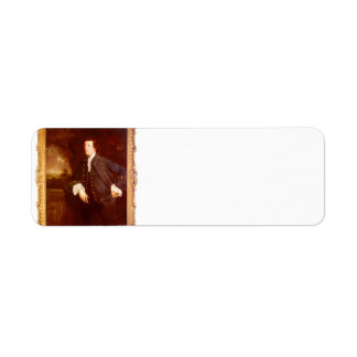 Retrato de sir Guillermo Lowther de Joshua Reynold Etiquetas De Remite