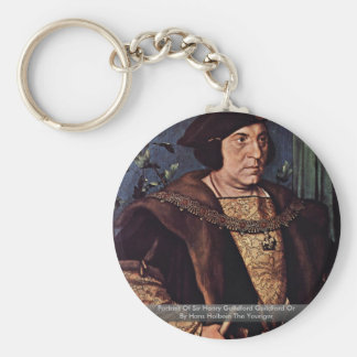 Retrato de sir Henry Guildford Guildford o Llaveros Personalizados