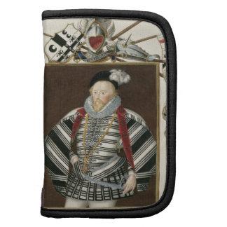 Retrato de sir Henry Lee (1530-1610) de la 'memori Planificadores