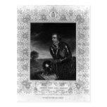 Retrato de sir Jeffrey Amherst Tarjetas Postales
