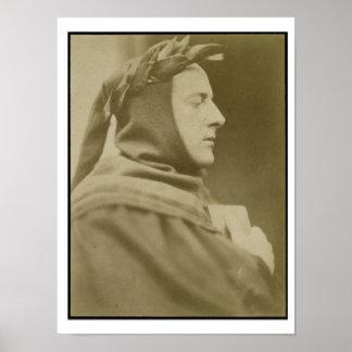Retrato de sir John Everett Millais (1829-96) Dre Póster