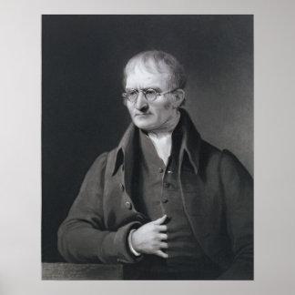 Retrato de sir José Thomson Póster
