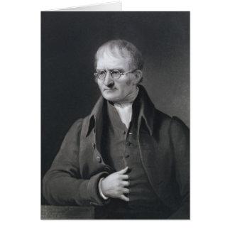 Retrato de sir José Thomson Tarjeta De Felicitación