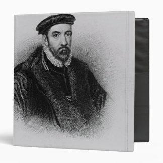 "Retrato de sir Nicholas Bacon Carpeta 1 1/2"""
