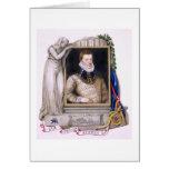 Retrato de sir Philip Sidney (1554-86) de la 'nota Felicitación