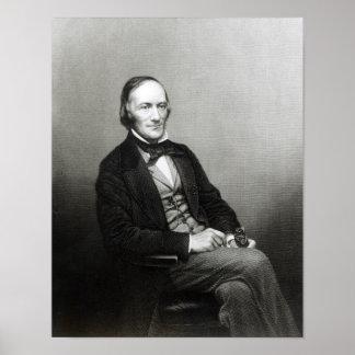 Retrato de sir Richard Owen Póster
