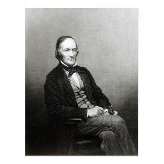 Retrato de sir Richard Owen Tarjeta Postal