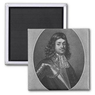 Retrato de sir Richard Stainer Imán Cuadrado