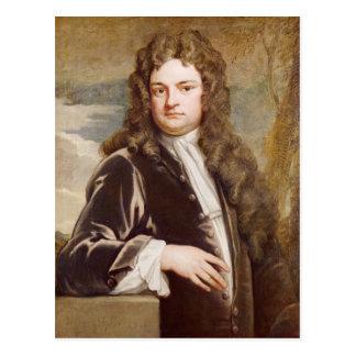 Retrato de sir Richard Steele 1711 Postales