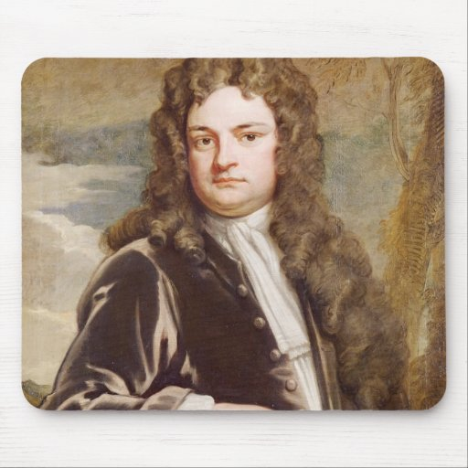 Retrato de sir Richard Steele 1711 Alfombrilla De Raton