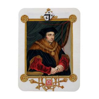 Retrato de sir Thomas More (1478-1535) de la 'nota Iman Flexible
