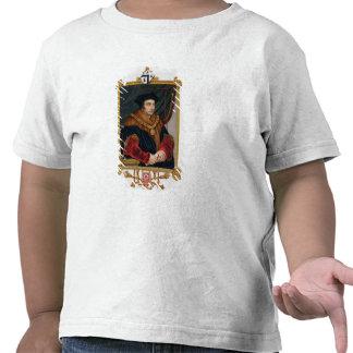 Retrato de sir Thomas More (1478-1535) de la 'nota Camisetas