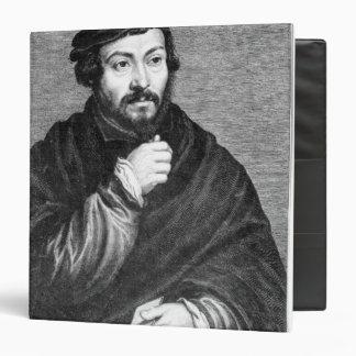"""Retrato de sir Thomas More Carpeta 1 1/2"""""""