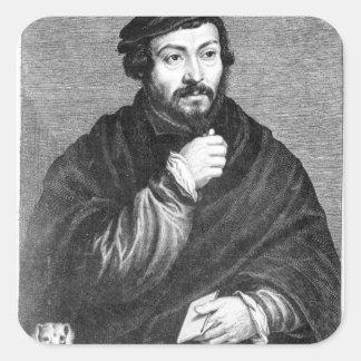 Retrato de sir Thomas More Colcomanias Cuadradass