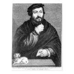 Retrato de sir Thomas More Postal