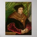 Retrato de sir Thomas More Póster