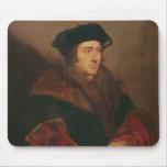 Retrato de sir Thomas More Tapetes De Raton