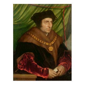 Retrato de sir Thomas More Tarjeta Postal