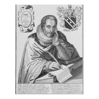 Retrato de sir Thomas Overbury Tarjeta Postal