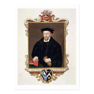 Retrato de sir Thomas Smythe (c.1558-1625) de ' Tarjeta Postal