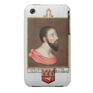 Retrato de sir Thomas Wyatt el más joven (c.1521-5 Carcasa Para iPhone 3