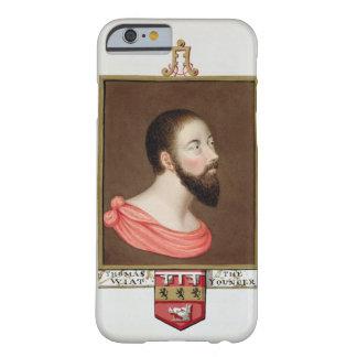 Retrato de sir Thomas Wyatt el más joven (c.1521-5 Funda Barely There iPhone 6