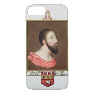 Retrato de sir Thomas Wyatt el más joven (c.1521-5 Funda iPhone 7