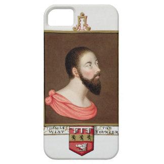 Retrato de sir Thomas Wyatt el más joven (c.1521-5 Funda Para iPhone SE/5/5s