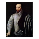 Retrato de sir Walter Raleigh 1588 Tarjeta Postal