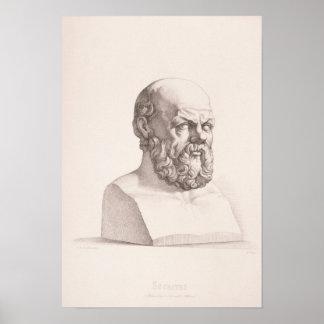 Retrato de Sócrates Póster