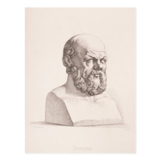 Retrato de Sócrates Tarjeta Postal