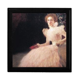 Retrato de Sonja Knips; Pintura de Gustavo Klimt Caja De Joyas