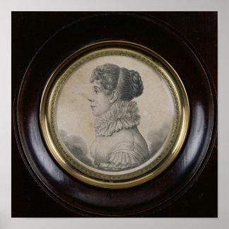 Retrato de Sophie Rostopchine Comtesse de Póster