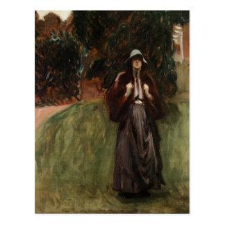 Retrato de Srta. Clementine de Juan Sargent Postal
