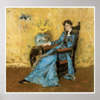 Retrato de Srta. Dora Wheeler, 1883 Póster