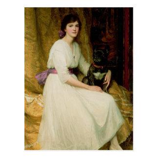 Retrato de Srta. Dorothy Dicksee Postal