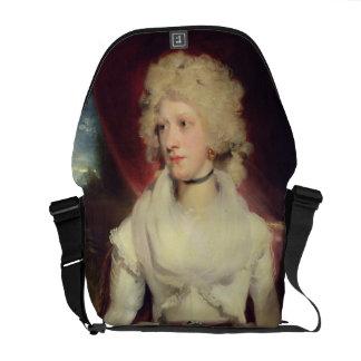 Retrato de Srta. Martha Carr (aceite en lona) Bolsa De Mensajeria