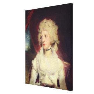 Retrato de Srta. Martha Carr (aceite en lona) Lona Estirada Galerías